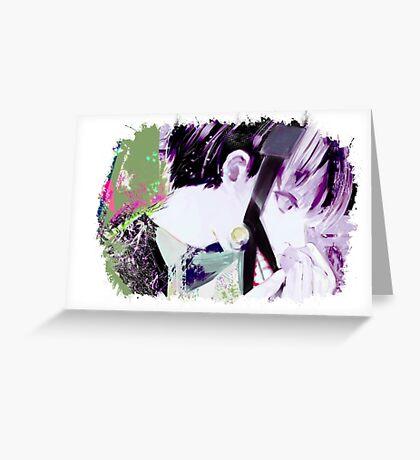 Tokyo Ghoul - Kaneki Ken (Ed Card)  Greeting Card