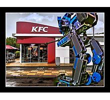 Something strange in the Drive-Thru by Tim Constable Photographic Print