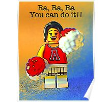 Ra, Ra, you can do it!! Poster