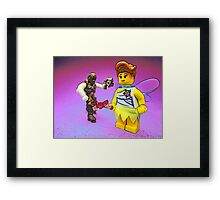 Don't mess with the fairies!! Framed Print