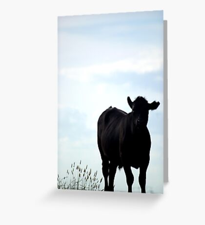 Away from the herd Greeting Card