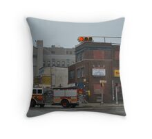 where's the fire Throw Pillow
