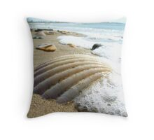Beached #1 Throw Pillow