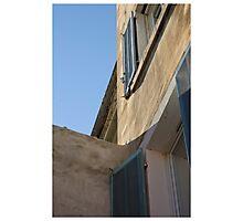 Blue morning Photographic Print