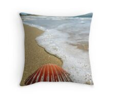 Beached #2 Throw Pillow