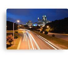 Raleigh Skyline #2  Canvas Print