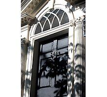 Bristol, RI Door Photographic Print