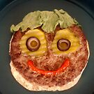 Happy Hamburger by Roger Otto