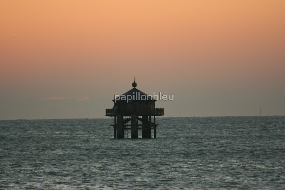 December Sunset at La Rochelle by Pamela Jayne Smith