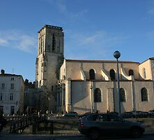 L'eglise Saint-Suaveur La Rochelle by Pamela Jayne Smith