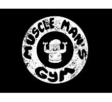 Muscle Man's Gym Photographic Print