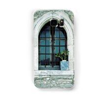 Greek window Samsung Galaxy Case/Skin