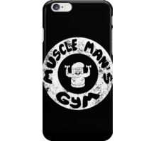 Muscle Man's Gym iPhone Case/Skin