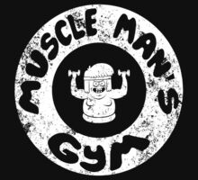 Muscle Man's Gym by Eman! Arts and Illustration