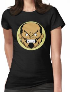 Angry Samurai | Yellow Variation Womens Fitted T-Shirt