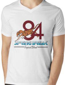 Replica '84 Spring Break  Mens V-Neck T-Shirt