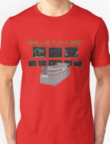 War Games W.O.P.R. Unisex T-Shirt