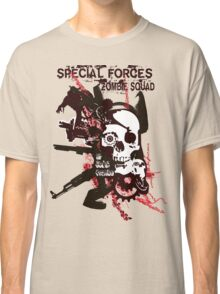 Special Forces Zombie Squad Classic T-Shirt