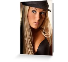 Holley Black Combo Greeting Card