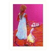 Little Mother Goose #2 Art Print