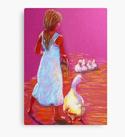 Little Mother Goose #2 Metal Print