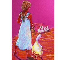 Little Mother Goose #2 Photographic Print