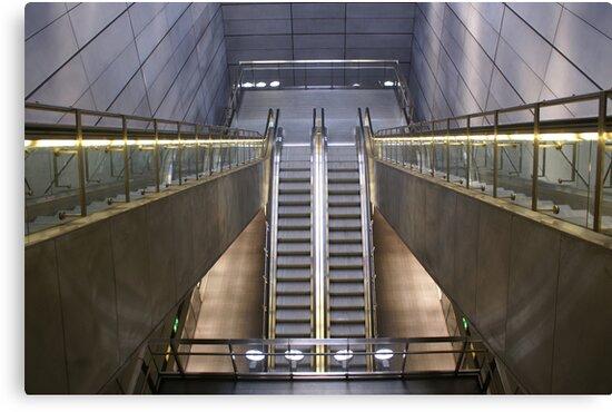 Kopenhagen subway station (1) by PeterBusser