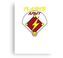Flash's Army Canvas Print