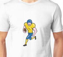 American Football Running Back Cartoon Unisex T-Shirt