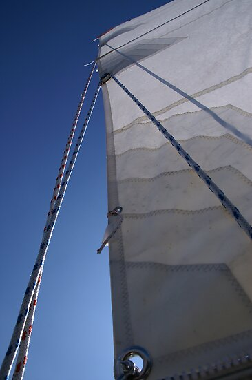 Sailing on IJsselmeer (1) by PeterBusser