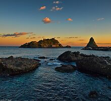 Sicilian sunsets and sunrises by Andrea Rapisarda