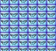 blue butterflies by cathyjacobs
