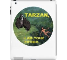 Tarzan Meets Star Wars iPad Case/Skin