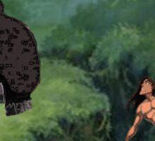 Tarzan Meets Star Wars Sticker