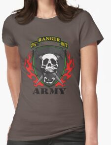 75th Ranger Regiment  Womens Fitted T-Shirt