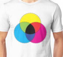 CMYK Color Design Unisex T-Shirt