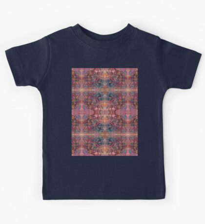 brush and pen squiggles Kids Tee