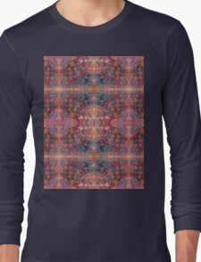 brush and pen squiggles Long Sleeve T-Shirt