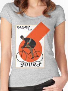 Classic Palais Tour De France Women's Fitted Scoop T-Shirt