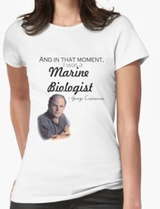 Marine Biologist Womens Fitted T-Shirt