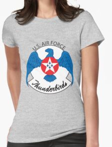 Air Force Thunderbirds Womens Fitted T-Shirt