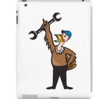 Turkey Mechanic Standing Spanner Cartoon iPad Case/Skin