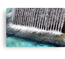 Up Floating Fountain Canvas Print
