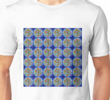Tree of Life in Blue Unisex T-Shirt