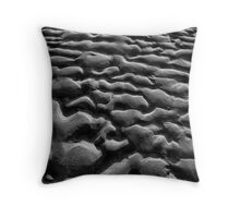 Sand Ripples Throw Pillow