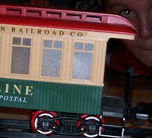 toy train by ArtBee