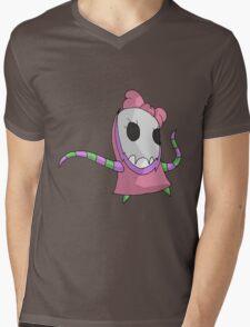 skull girl Mens V-Neck T-Shirt
