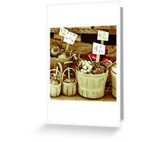 The Price is Right  Greeting Card