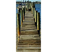 At The Marina ~ Part Four Photographic Print