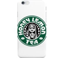 honey lemon tea iPhone Case/Skin